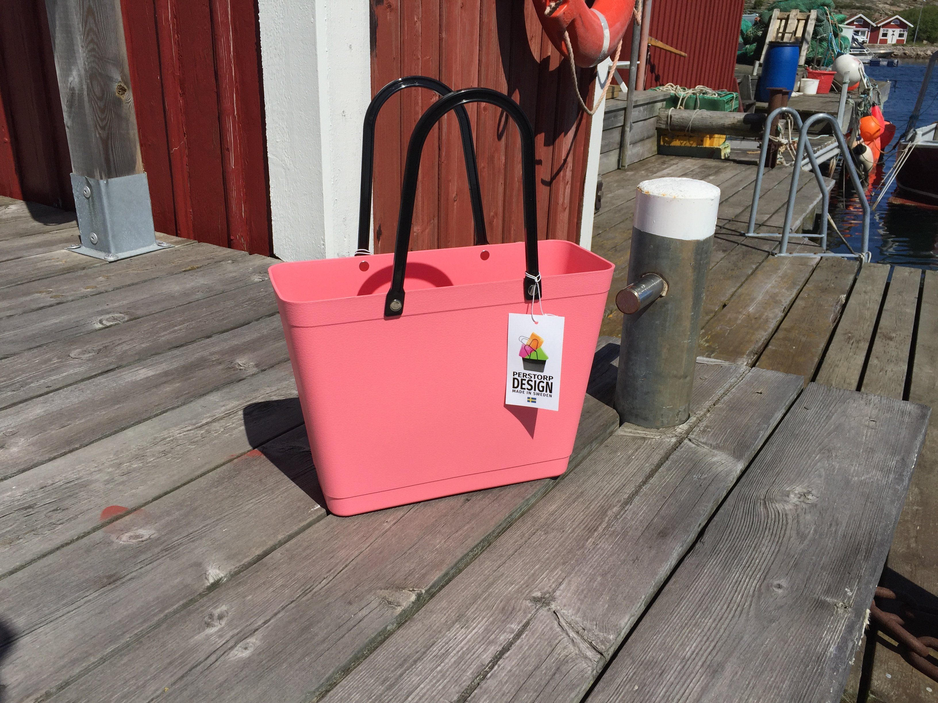 Perstorp Sweden bag small färg rosa